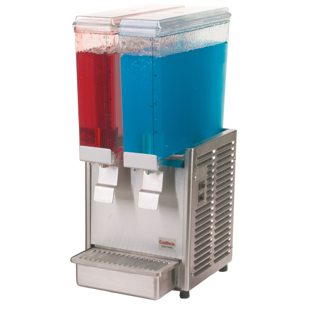 Cold Beverage Dispenser - Mini Twin