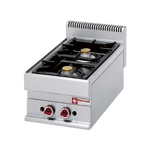Gas Cooker 2 burners Top-G65/2F4T