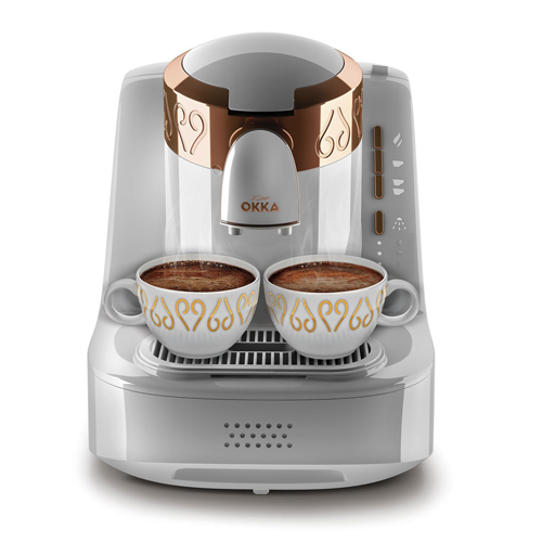 Turkish Coffee Maker White Automatic