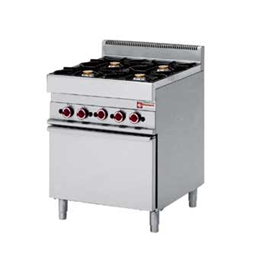 Gas Range 4 Burners with Gas Oven-G65/4BF7