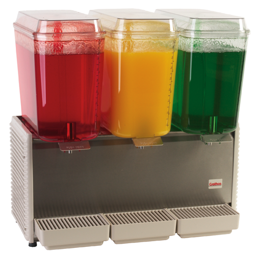 Cold Beverage Dispenser - Triple Bowl
