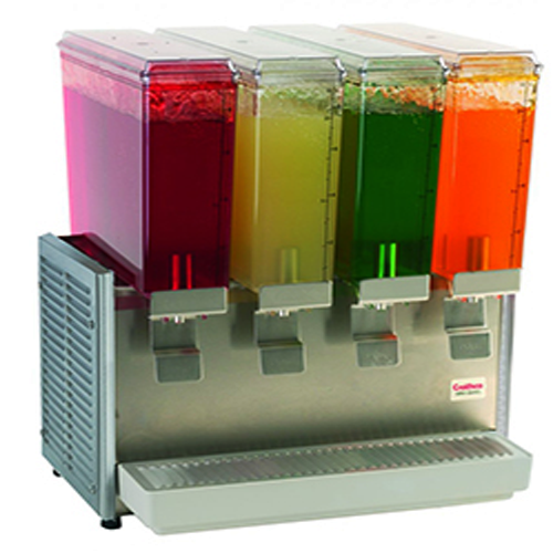 Cold Beverage Dispenser - 4 bowl