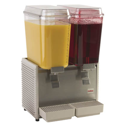 Cold Beverage Dispenser - Double bowl