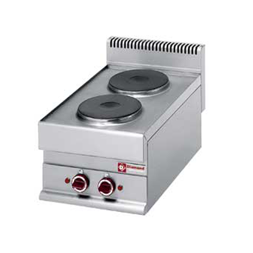 Electric Range 2 round cooking plates Top-E65/2P4T