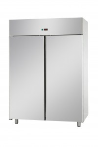 Rio 2 Door Upright Freezer